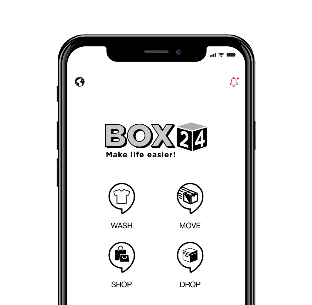 WashBox24 App